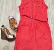 Платье и босоножки