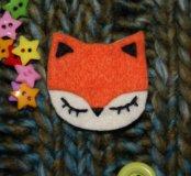 Брошь Fox