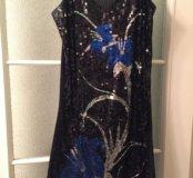 Платье коктейльное клубное р.42-44