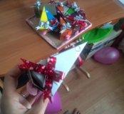 Торт-сюрприз с подарками