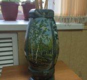 Малахитовая ваза.
