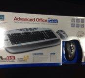 Комплект беспроводной. Клавиатура + мышь!