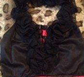 платье через шею