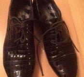 Лаковые ботинки Cavaletto