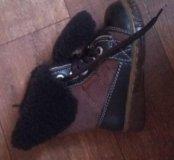 ботиночки зимнее натуралки