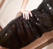 Платье с паетками для дискотеки