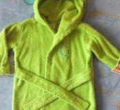 Махровый халатик на ребенка 2-х лет