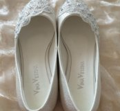Свадебные балетки