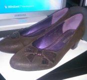 Туфли коричневые 37размер