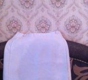 Тонкая юбка на подкладке