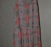 Шифоновое платье Mango