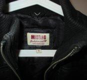 Фирменная куртка из натуральной кожи