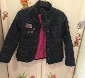 Куртка для девочки в стиле монстр хай.