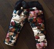 Новые штаны зимние детские
