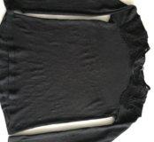 Чёрная кофта