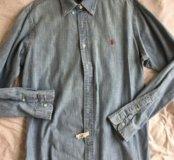 Ralph Lauren мужская рубашка б/у размер M/L