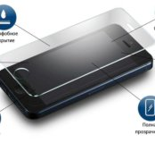 Установка защитных стёкол на iPhone