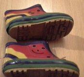 Ботиночки резиновые