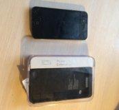 Айфон 4+чехол зарядка