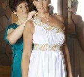 Свадебное платье!фата,перчатки!