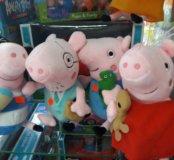Свинка Пеппа и ее друзья мягкая