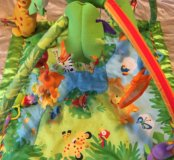Развивающий коврик «Тропический лес» Fisher Price.