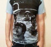 Новая футболка с Битлами.
