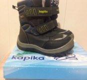 Зимние сапожки Kapika.