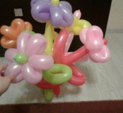 Букетик из 5 шаров