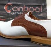 Мужские туфли,Conhpol,нат.кожа,Польша.