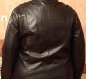 Куртка кожзам 62 размер