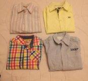 Рубашки для мальчики 5-6 лет