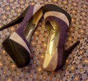 Туфли замша р. 37