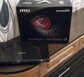 Игровой ноутбук MSI Steelseries.
