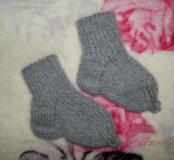 Новые носочки. Шерсть, ангорка.