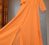 Платье розовое (НОВОЕ)