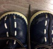 Детские ботинки на байке осень весна