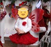 Костюм на праздник для девочки бабочка.