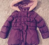 Курточка тёплая размер 92