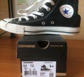 Новые Converse all star black