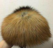 Шапка из лисицы размер 57