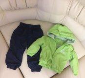Комплект на мальчика : курточка и штанишки.