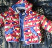 Куртка и штаны на мальчика рост 80-86 весна-осень