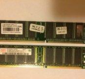 Память DDR-400, 2х512MB