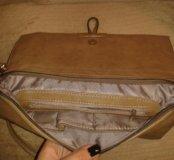 Новая бежевая сумка