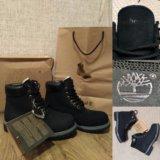 Ботинки зимние с мехом Timberland