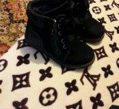 Замшевые ботинки для мальчика