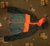 Куртка Reebok  осень, двусторонняя