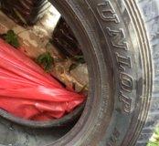 Продам 4 новые зимние шины Dunlop grandtrek