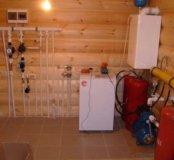 Отопление, тёплый пол, водопровод, сварочные работ